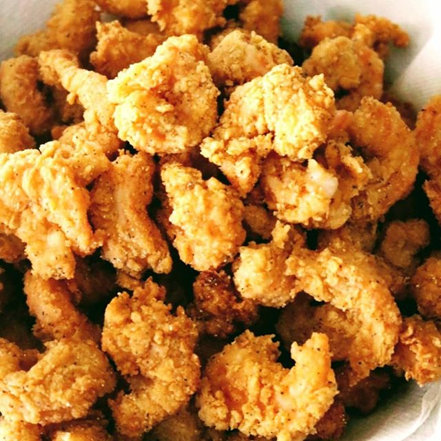 Weekend food special Fried Shrimp and Cajun Fries only $7.50